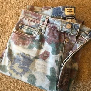 Citizens of Humanity Floral Printed Women's Jeans